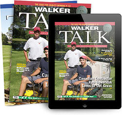 Walker Talk Magazine and iPad