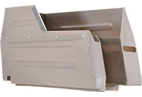 Dump Bins Single Rear Left