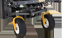 Spread Axle Tail Wheels
