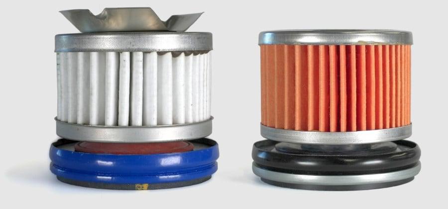 internal view of Kohler PRO oil filter