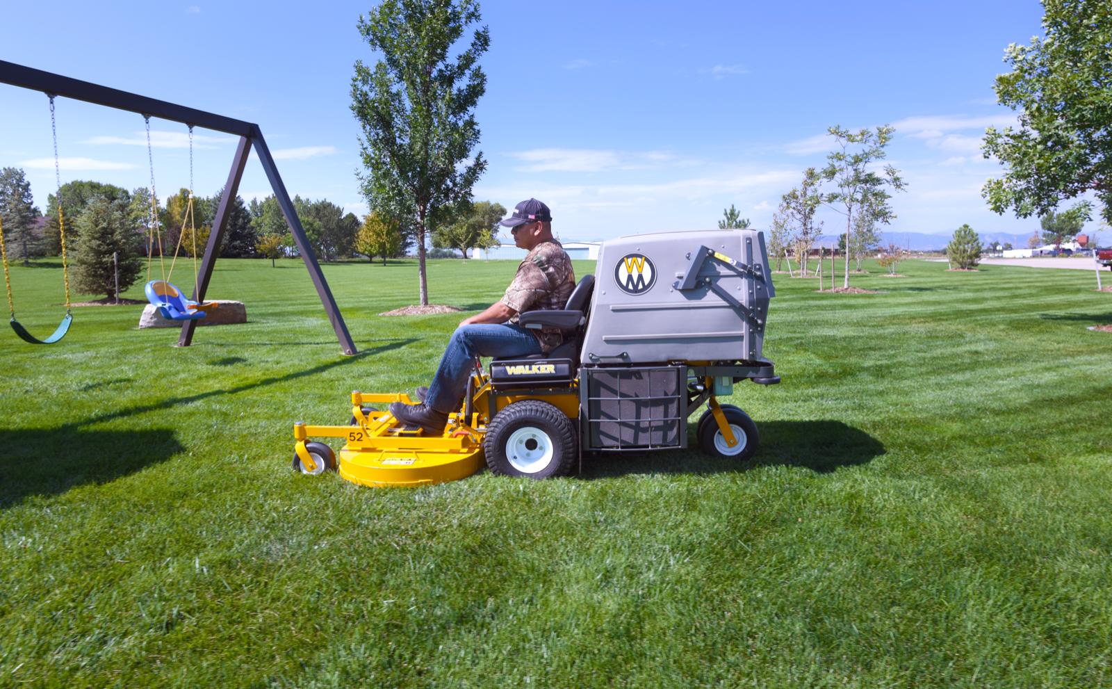 The Walker Model D21d Commercial Lawn Mower