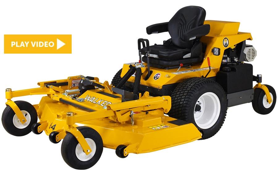 The Walker Model H38i Commercial Lawn Mower