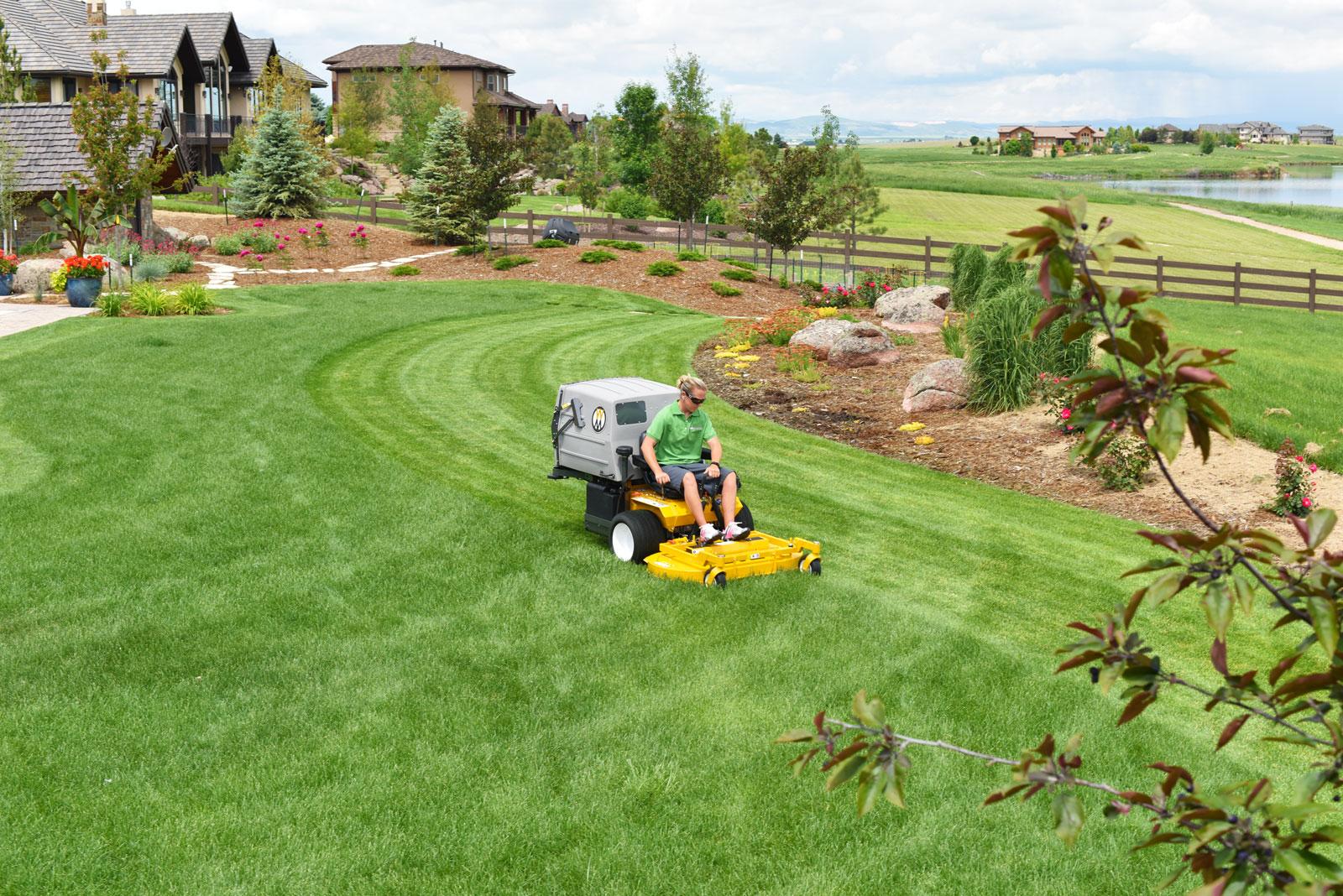The Walker Model T23 Commercial Lawn Mower
